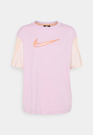 T-shirt con stampa - arctic pink