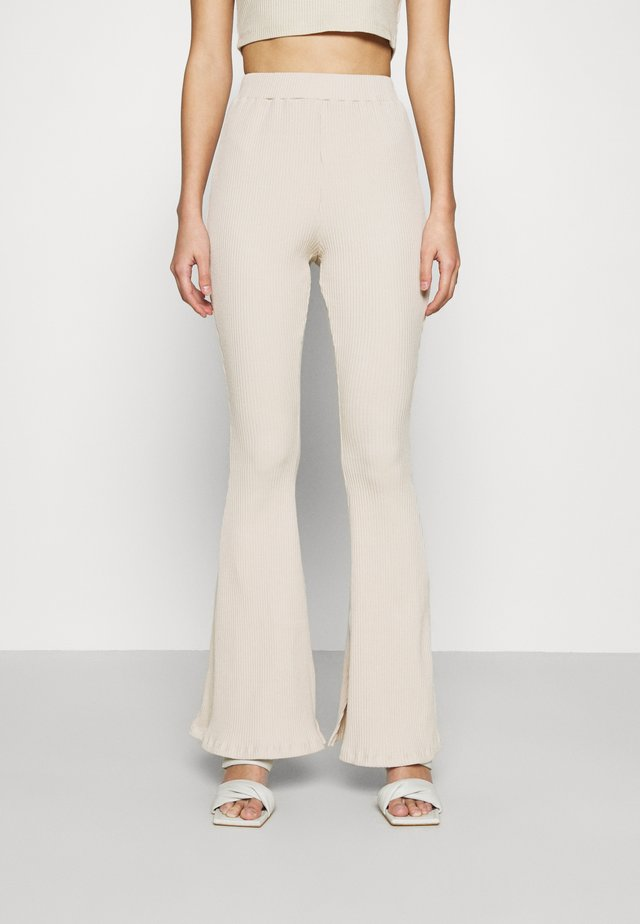 LADIES TROUSERS - Broek - ecru