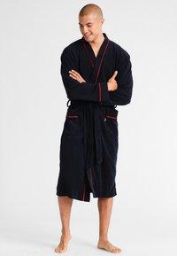 Jockey - BATHROBE - Dressing gown - navy - 0
