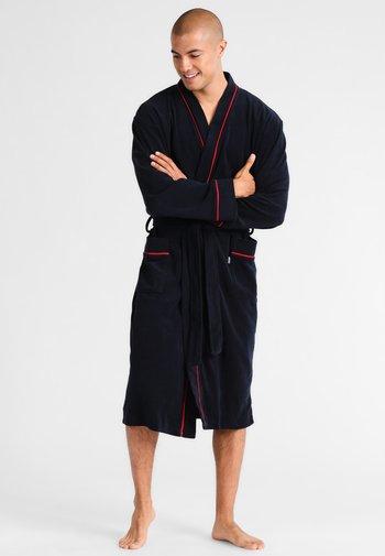 BATHROBE - Dressing gown - navy