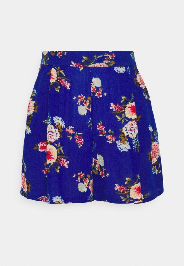 VIMESA - Shorts - mazarine blue/red