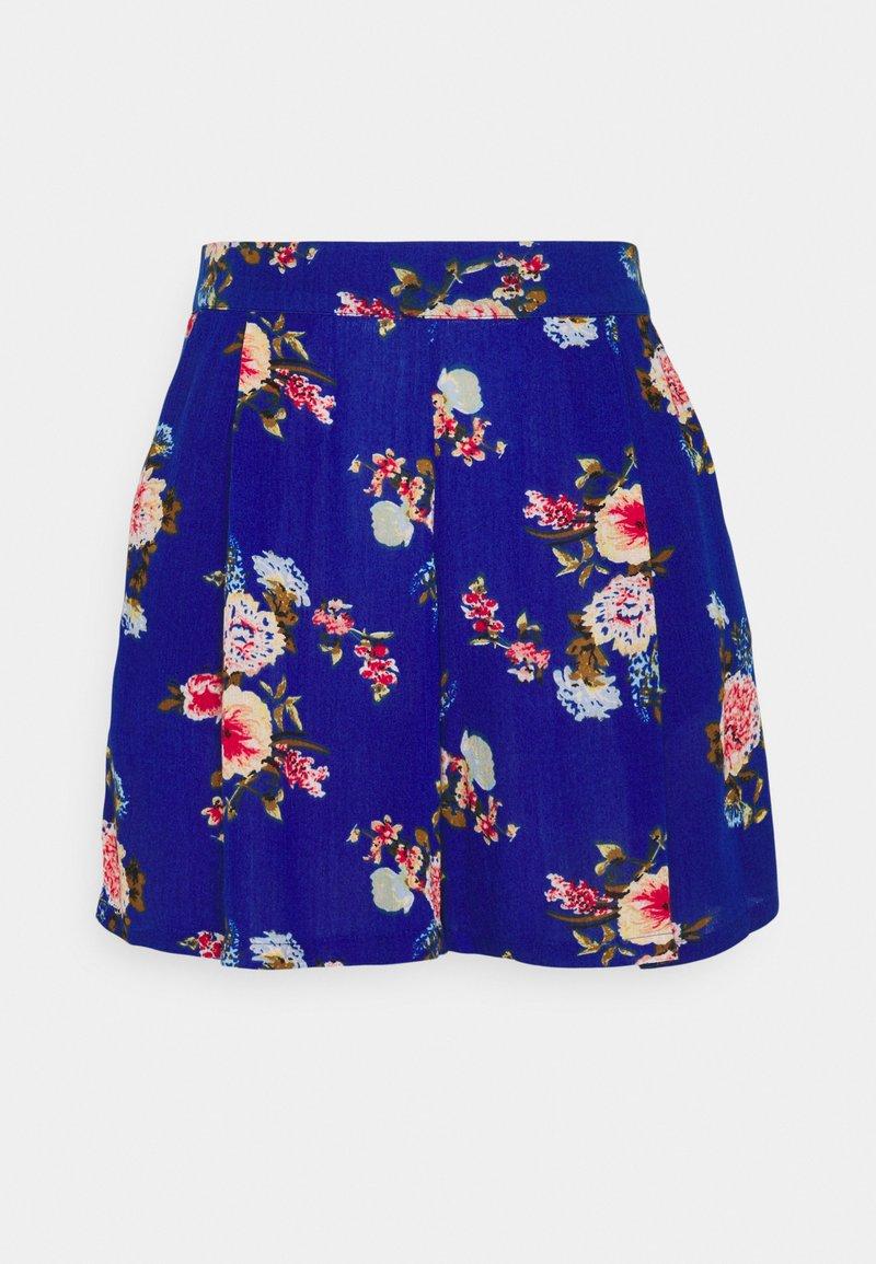 Vila - VIMESA - Shorts - mazarine blue/red
