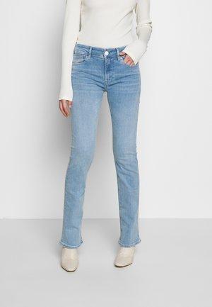 LUZ BOOTCUT - Bootcut jeans - superlightblue