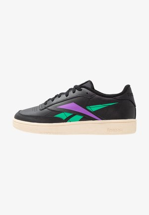 CLUB C 85 LIGHT LEATHER UPPER SHOES - Tenisky - black/emerald/grape
