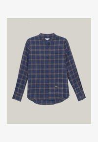 Brava Fabrics - WOODCUTTER ESSENTIAL - Button-down blouse - blue - 4