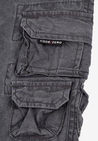 CODE | ZERO - Cargo trousers - anthracite - 3