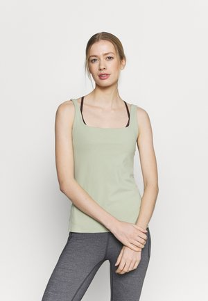 THE YOGA LUXE TANK - Topper - celadon/olive aura