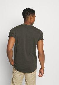 G-Star - LASH  - Basic T-shirt - carbid - 2