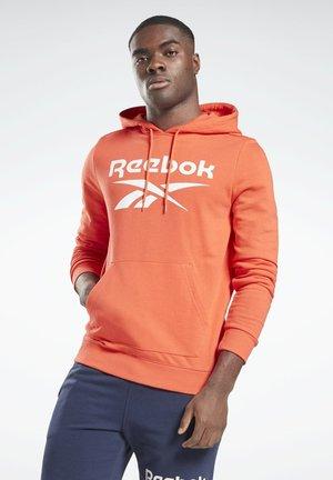 REEBOK IDENTITY BIG LOGO HOODIE - Hoodie - orange