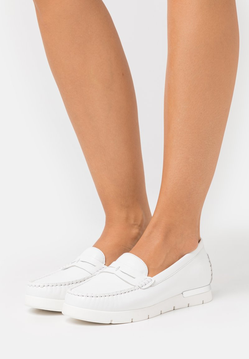 Caprice - Slip-ons - white