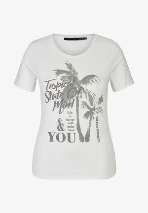 MIDSUMMER - Print T-shirt - weiss