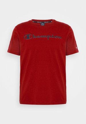 LEGACY CREWNECK - Print T-shirt - dark red