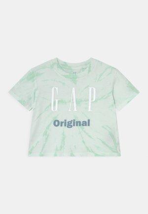 GIRLS LOGO UPDATE - T-shirt print - mint