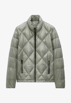 MIT ABNEHMBARER KAPUZE  - Winter jacket - blue