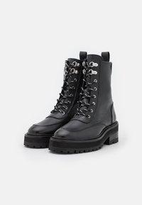 The Kooples - SHOES - Kotníkové boty na platformě - black - 2
