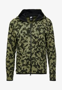 Nike Sportswear - HOODIE  - Felpa aperta - medium olive/black - 4