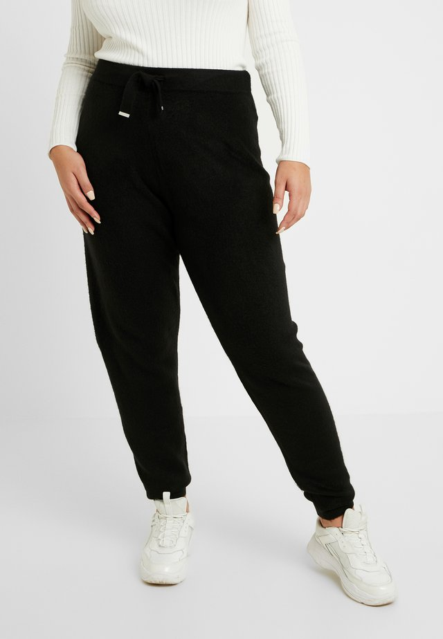 DIAMANTE JOGGER - Tracksuit bottoms - black