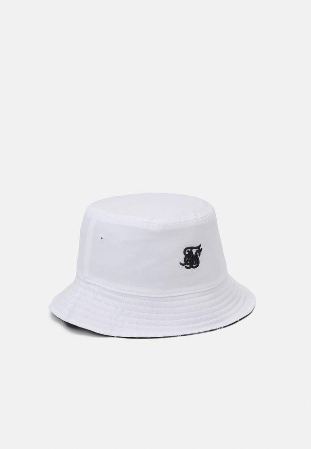 BUCKET HAT UNISEX - Čepice - white/black