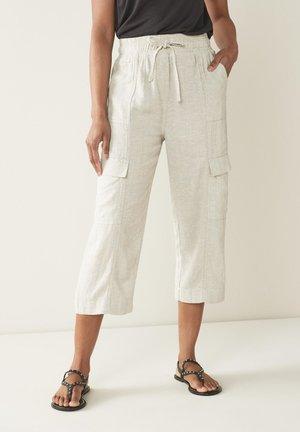 BLEND UTILITY - Cargo trousers - beige