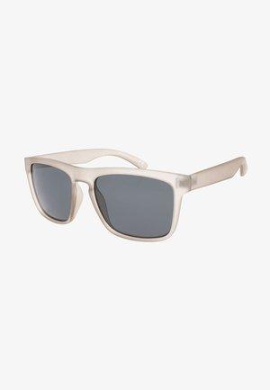 Sunglasses - rubberized clear gray