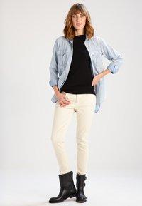 Lauren Ralph Lauren - JUDY ELBOW SLEEVE - T-shirts basic - black - 1