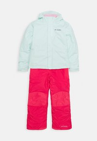 Columbia - BUGA™ SET - Kombinezon zimowy - sea ice/pink orchid - 0