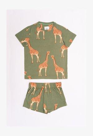 Pyjama set - green