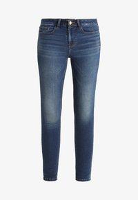 Vila - VICOMMIT FELICIA  - Slim fit jeans - dark blue denim - 5