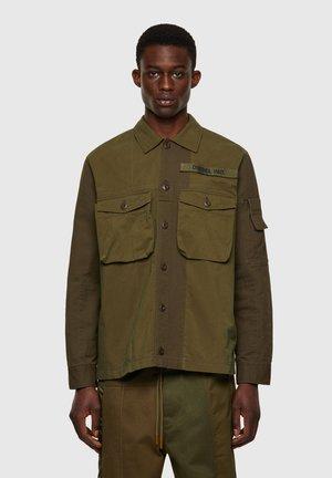 S-ADAIR - Denim jacket - olive green