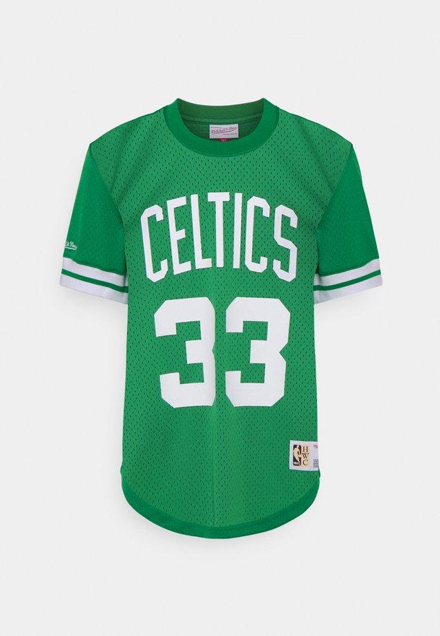 NBA BOSTON CREWNECK - T-shirt con stampa - celtics green
