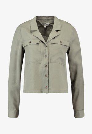SLFADDA - Button-down blouse - vetiver