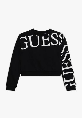 JUNIOR ACTIVE  - Sweatshirt - jet black