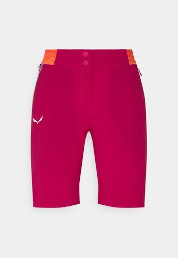 PEDROC SHORTS - Sports shorts - rose red