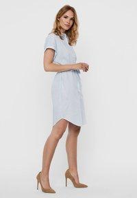 Vero Moda - Shirt dress - placid blue - 4