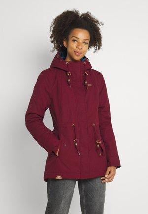 MONADIS - Winter coat - wine red