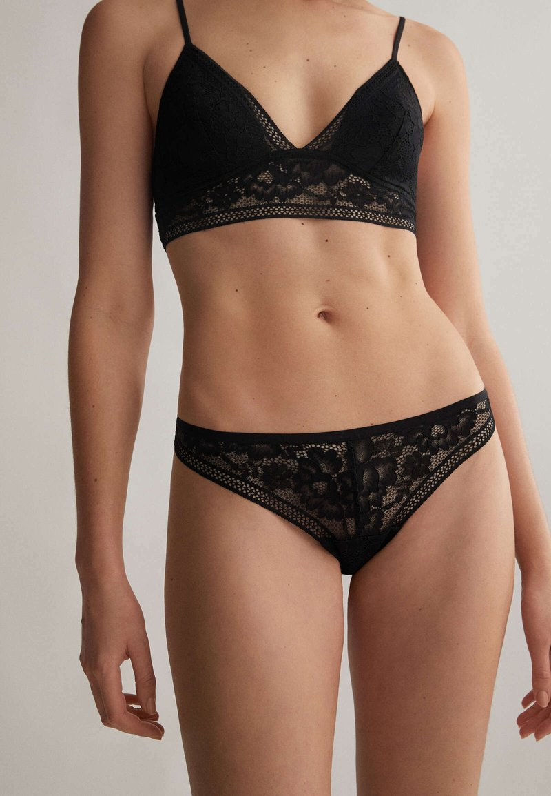 OYSHO - Thong - black