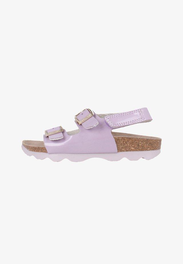KINDU VERNICE MALVA - Sandals - lila