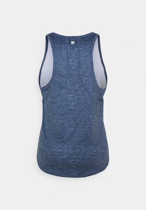 ENERGISE WORKOUT - Camiseta de deporte - beetle blue