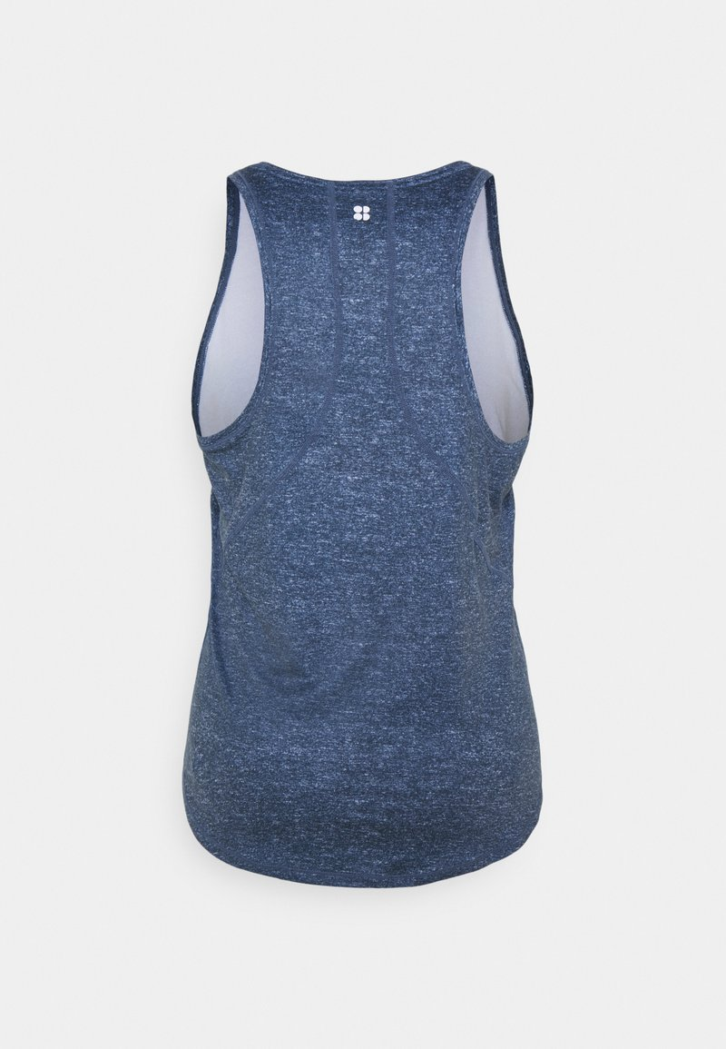 Sweaty Betty - ENERGISE WORKOUT VEST - T-shirt de sport - beetle blue
