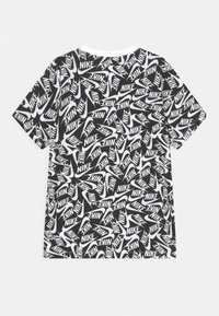 Nike Sportswear - TEE FUTURA - T-shirt con stampa - black/white - 1