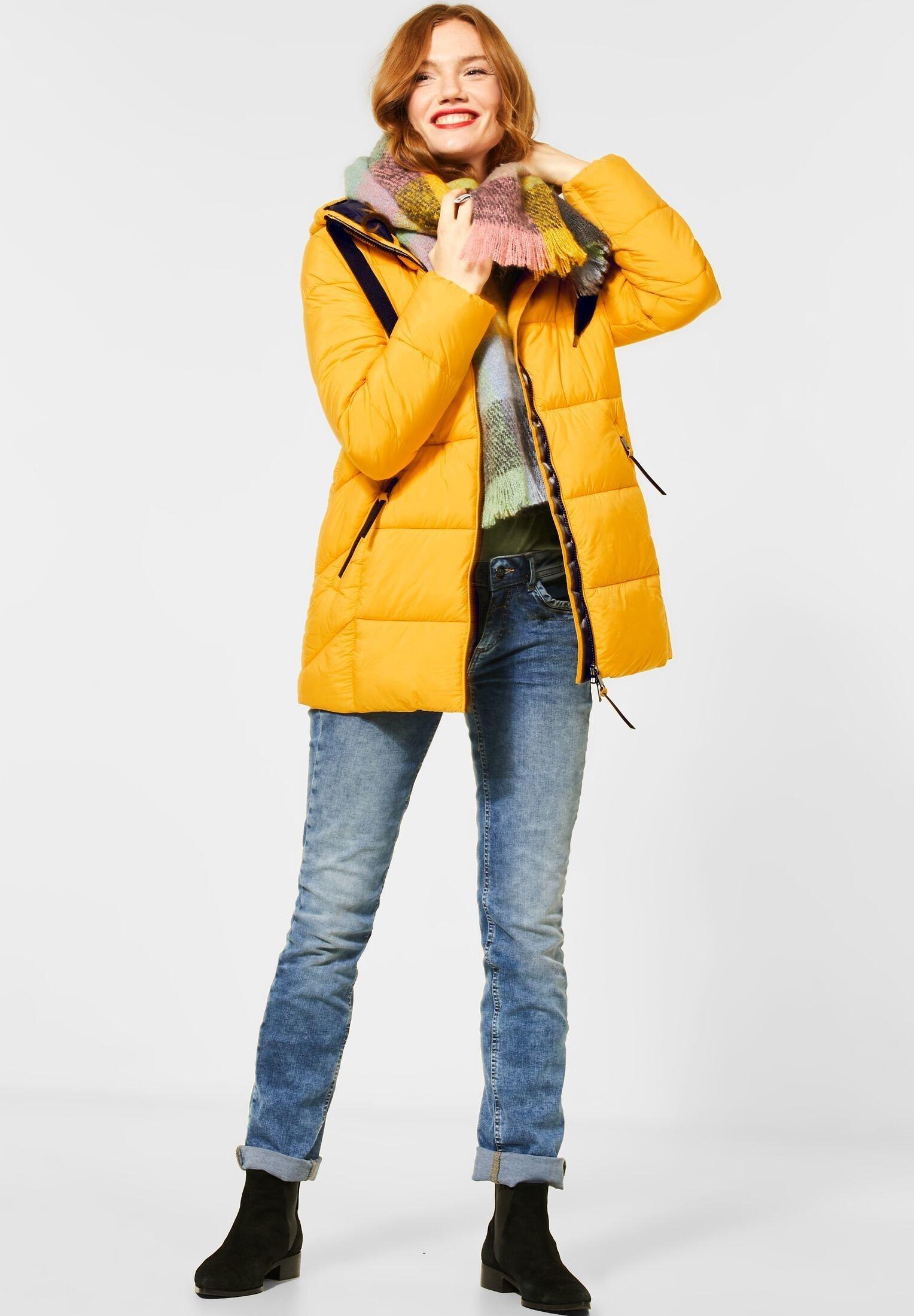 Winterjas gelb