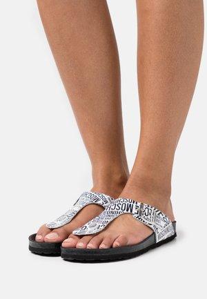 T-bar sandals - fantasy color