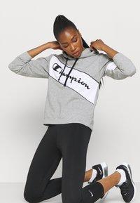 Champion - HOODED - Sweatshirt - oxi grey melange - 3