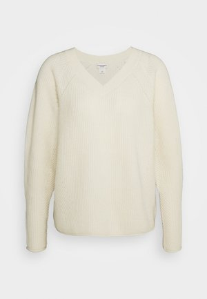 VNECK - Jumper - cream