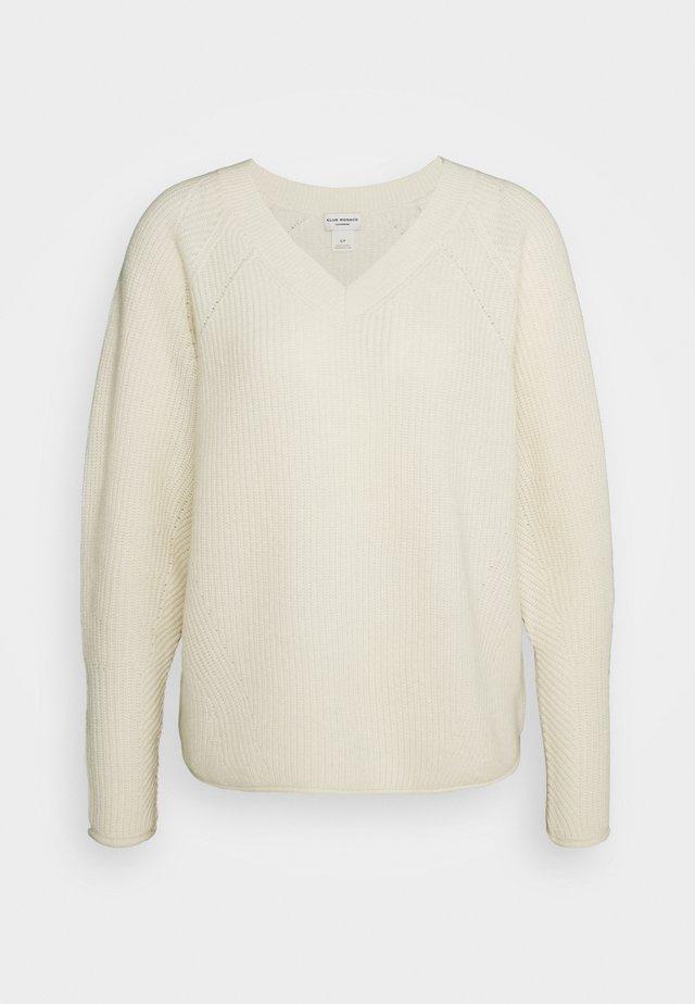 VNECK - Pullover - cream