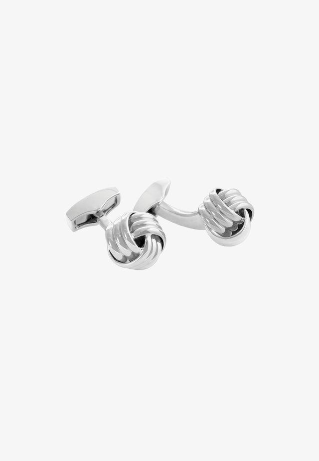 Manchetknoop - silver