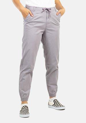 Trousers - purple grey