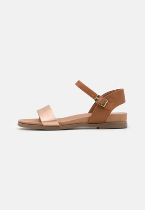 FREDDIE FOOTBED  - Sandales - tan