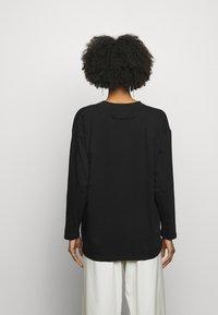 MM6 Maison Margiela - Long sleeved top - black - 2