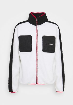 DERIK - Fleece jacket - white